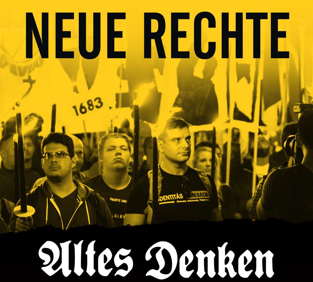 "Demonstration der ""Identitären Bewegung"" in Wien, 2017. Foto: Endstation Rechts"